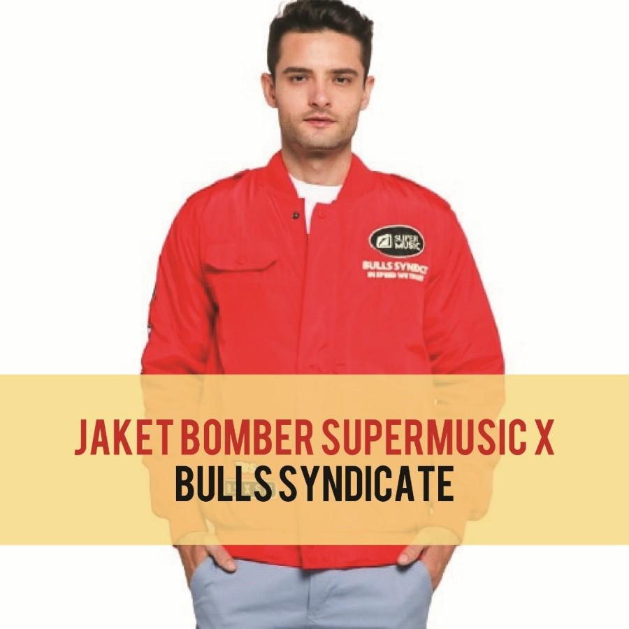 JAKET//BOOMBER JACKET//OUTERWEAR Supermusic x Bulls Syndicate