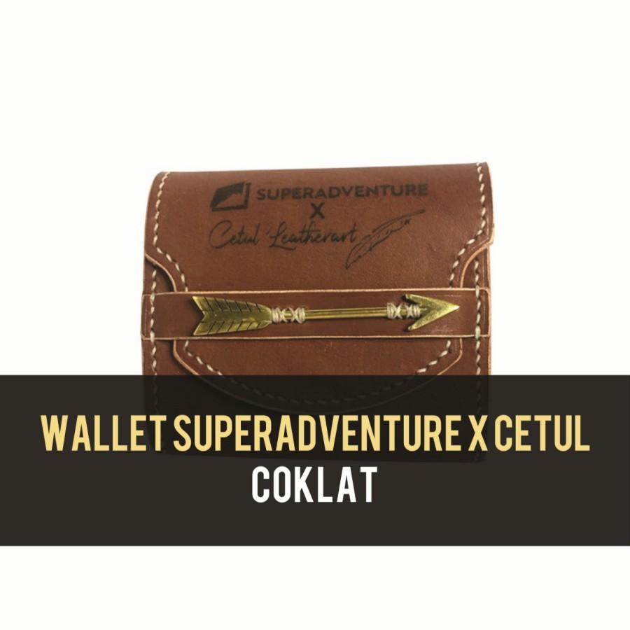 Dompet  Wallet SA X Cetul - Coklat