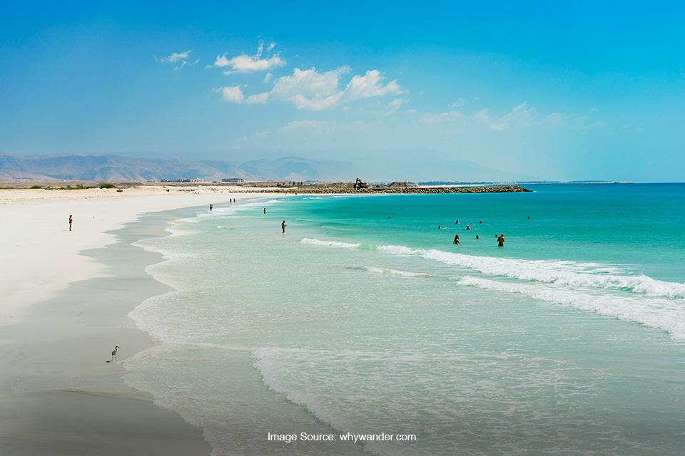 Pesona Pantai di Timur Tengah