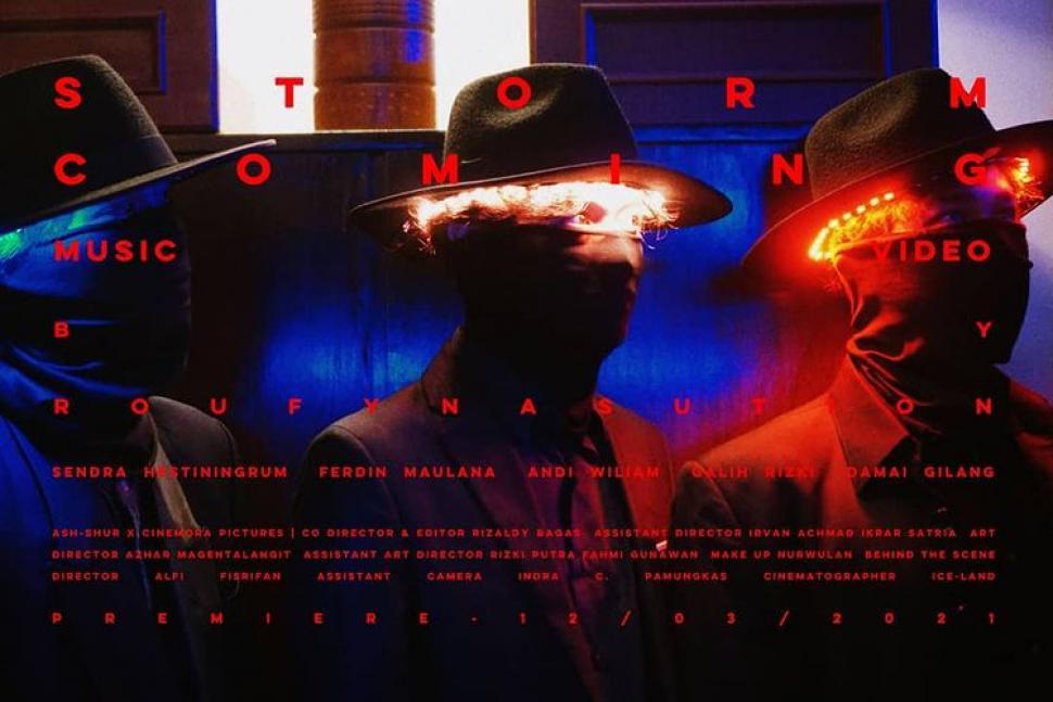 Ash-Shur Rilis Video Musik untuk Single Storm Coming dari Album Debut
