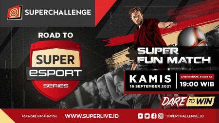 Melihat Langsung Permainan Profesional Atlet Esports di Super Fun Match IV eFootball PES