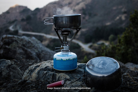kompor camping