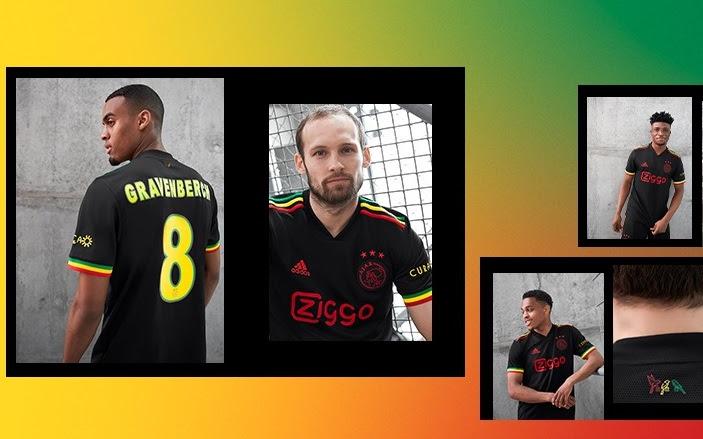 Bob Marley Jadi Inspirasi Jersey Ketiga Ajax Amsterdam