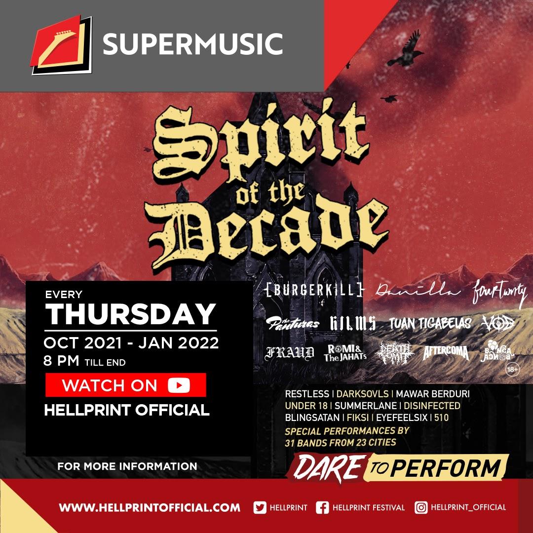 Mari Rayakan Semangat Hellprint: Spirit Of The Decade