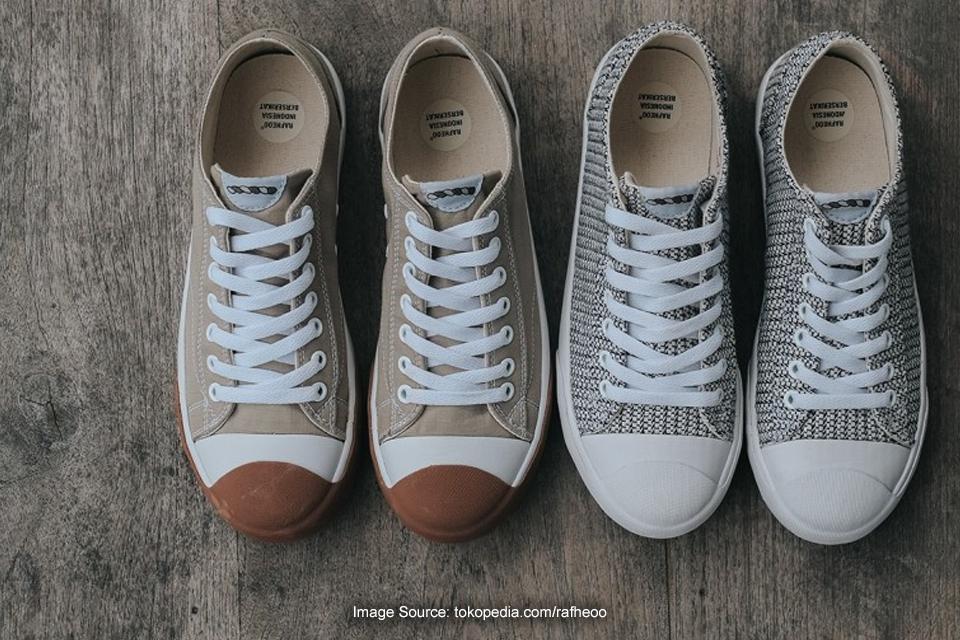 Rafheoo Footwear, Brand Sneaker yang Punya Material Unik