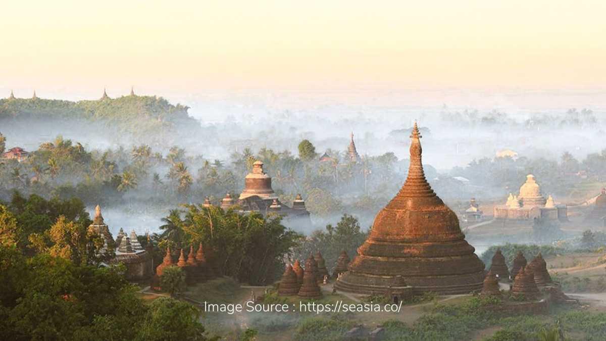 Kota Tersembunyi Mrauk U di Myanmar yang Penuh Pesona