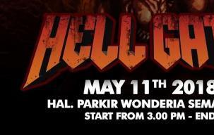 Geliat Musik Cadas Semarang Hadir di 'Hell Gate'