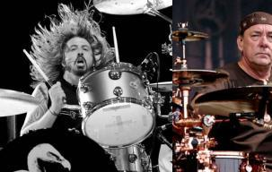 Dave Grohl Enggan Gantikan Posisi Drummer Rush
