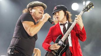 AC DC Back in Black Era