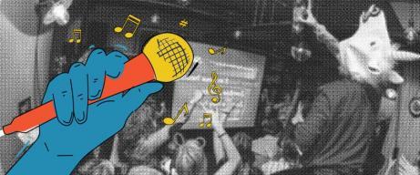 tren karaoke