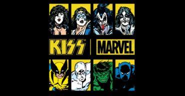 Kiss x Marvel