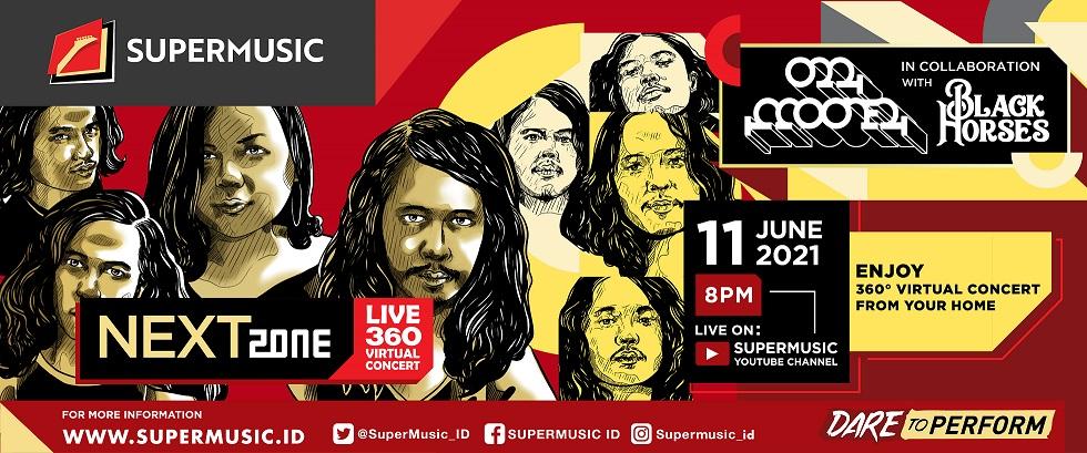SUPERMUSIC NEXTZONE LIVE 360 VIRTUAL CONCERT - O.M. MOONER x BLACK