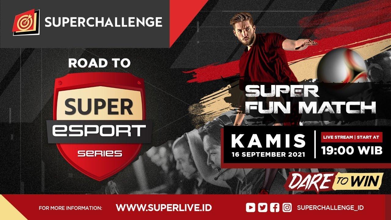Live Streaming Super Fun Match Day IV (PES 2021)