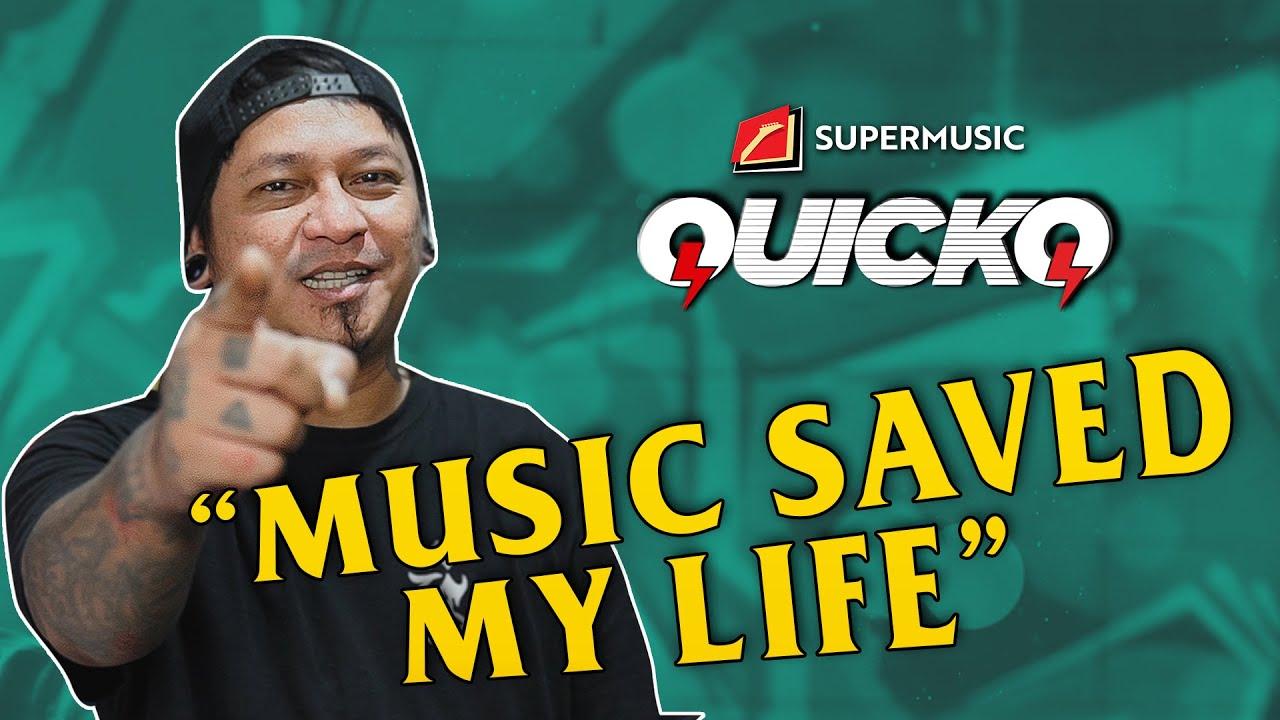 "QuickQ Eps. 20 - Andyan Gorust ""Music Saved My Life"""